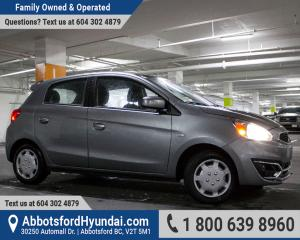 Used 2017 Mitsubishi Mirage ES ACCIDENT FREE & GREAT CONDITION for sale in Abbotsford, BC