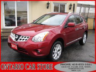 Used 2012 Nissan Rogue SL AWD NAVIGATION LEATHER SUNROOF for sale in Toronto, ON