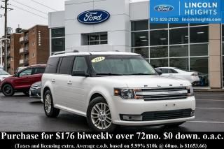 Used 2014 Ford Flex SEL AWD - LEATHER - BLUETOOTH - PANORAMIC ROOF for sale in Ottawa, ON