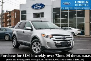 Used 2014 Ford Edge SEL - BLUETOOTH - CLASS II TRAILER TOW - NAV - PANORAMIC ROOF for sale in Ottawa, ON