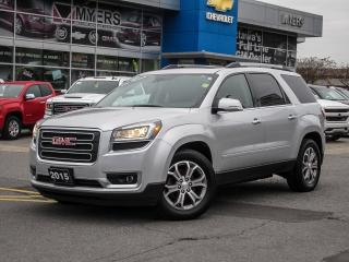 Used 2015 GMC Acadia SLT, AWD, DVD, NAV, BOSE, LOADED!!! for sale in Ottawa, ON