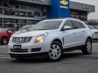Used 2014 Cadillac SRX LUXURY,  NAV, AWD, SUNROOF, BLIND ZONE ALERT!! for sale in Ottawa, ON