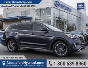 Used 2017 Hyundai Santa Fe XL Limited ACCIDENT FREE for sale in Abbotsford, BC
