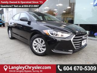 Used 2017 Hyundai Elantra LE *ACCIDENT FREE*ONE OWNER*LOCAL BC CAR* for sale in Surrey, BC