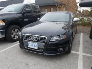 Used 2012 Audi S4 3.0  Leather, Sunroof, Extended Warranty Till 125 for sale in Concord, ON
