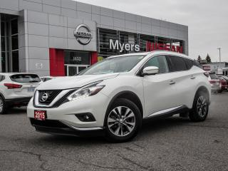 Used 2015 Nissan Murano SL,NAVIGATION, LEATHER, MOONROOF, BACK UP CAMERA, HEATED SEATING/STEERING for sale in Orleans, ON