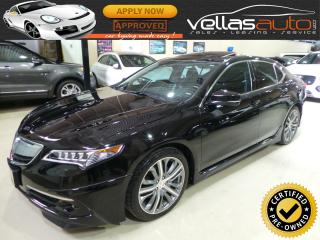 Used 2015 Acura TLX SH-AWD| ELITE PKG| AERO SKIRT PKG| 22KM for sale in Woodbridge, ON