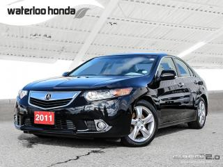Used 2011 Acura TSX Base Bluetooth, Heated Seats and more! for sale in Waterloo, ON