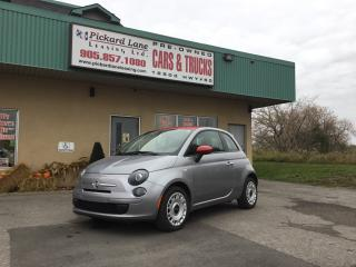 Used 2015 Fiat 500 Pop $85.27 BI WEEKLY! $0 DOWN! CERTIFIED! for sale in Bolton, ON