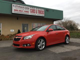 Used 2014 Chevrolet Cruze 2LT $104.78 BI WEEKLY! $0 DOWN! CERTIFIED!!! for sale in Bolton, ON