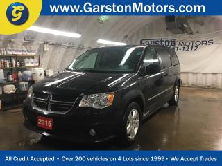 Used 2016 Dodge Grand Caravan CREW PLUS*LEATHER*DUAL ROW STOW N GO*DUAL REAR DVD PLAYER*TRI ZONE CLIMATE CONTROL w/REAR AIR CONTROL* for sale in Cambridge, ON