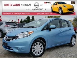 Used 2014 Nissan Versa NOTE SV w/keyless,cruise,bluetooth,rear cam for sale in Cambridge, ON