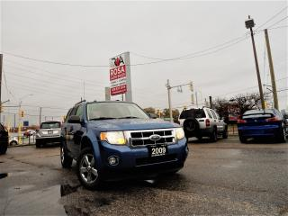 Used 2009 Ford Escape XLT AUTO PL,PW,PT AUX NO RUST for sale in Oakville, ON