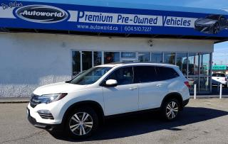 Used 2016 Honda Pilot EX-L for sale in Langley, BC
