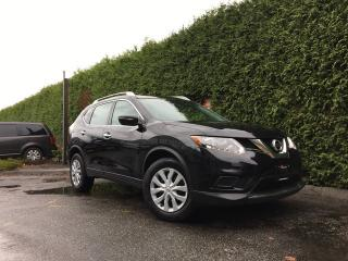 Used 2015 Nissan Rogue S All-wheel Drive + BACK-UP CAMERA + BLUETOOTH + NO EXTRA DEALER FEES for sale in Surrey, BC