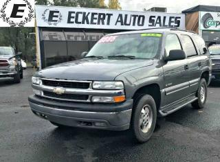 Used 2002 Chevrolet Tahoe LS 4X4 WITH LEATHER/SUNROOF for sale in Barrie, ON