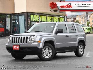 Used 2016 Jeep Patriot SPORT 2.4 6 SPEED AUTOMATIC CRUISE CONTROL for sale in Scarborough, ON