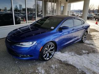Used 2015 Chrysler 200 S V6 AWD; NAV, BACKUP CAM, HEATED SEATS/WHEEL, SUNROOF AND MORE for sale in Edmonton, AB