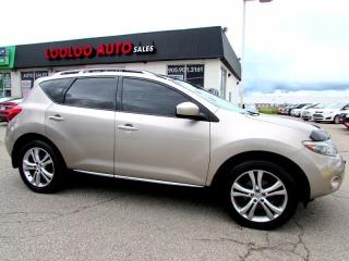 Used 2009 Nissan Murano LE AWD Navigation Camera Certified 2YR Warranty for sale in Milton, ON