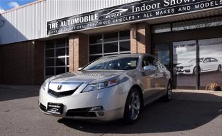 Used 2010 Acura TL SH-AWD NO ACCIDENT LEATHER SUNROOF for sale in Mississauga, ON