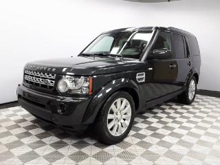 Used 2013 Land Rover LR4 HSE - CPO 6yr/160000kms manufacturer warranty included until December 1, 2019! CPO rates starting at 0.9%! Local One Owner Trade In | No Accidents |2 Sets of Tires Included | Winter Tires Installed | Seats 7 | Navigation | Parking Sensors | Heated Windshi for sale in Edmonton, AB