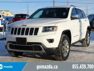 Used 2016 Jeep Grand Cherokee Limited 4X4 LEATHER SUNROOF NAVIGATION ACCIDENT FREE for sale in Edmonton, AB