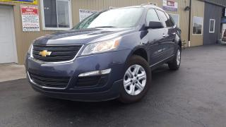 Used 2013 Chevrolet Traverse REVERSE CAMERA-8 PASS-THIRD ROW SEATING for sale in Tilbury, ON