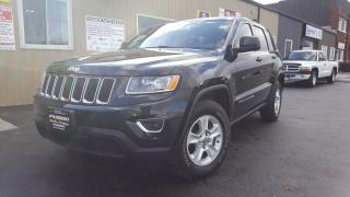 Used 2014 Jeep Grand Cherokee Laredo-4X4-INTELLIGENT KEY-INFO SYSTEM for sale in Tilbury, ON