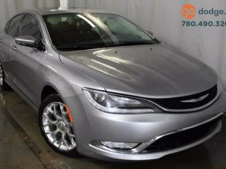 Used 2015 Chrysler 200 C AWD / GPS Navigation for sale in Edmonton, AB