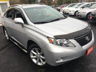 Used 2010 Lexus RX 350 AUTO/AWD/NAVI/BACK UP CAMERA/BLUETOOTH/LOADED!! for sale in Scarborough, ON