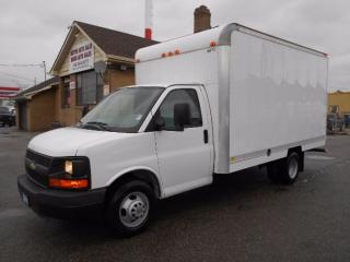 Used 2011 Chevrolet Express 3500 Cube Van 14Ft Aluminium Box Loaded ONLY 40,000KMs for sale in Etobicoke, ON