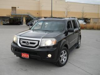 Used 2009 Honda Pilot Touring, 4WD, 8 Pass. , Navi. , DVD, Backup cam. for sale in North York, ON