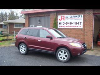 Used 2009 Hyundai Santa Fe Limited AWD - Leather, Sunroof, Loaded! for sale in Elginburg, ON