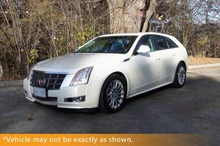 Used 2010 Cadillac CTS CTS4 Wagon AWD V6 Heated Leath for sale in Winnipeg, MB