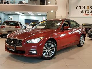 Used 2014 Infiniti Q50 PREMIUM-AWD-NAVIGATION-LOADED-ONLY 94KM for sale in York, ON