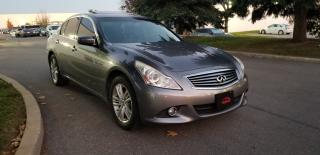 Used 2011 Infiniti G37 Sedan Sport AWD for sale in Concord, ON
