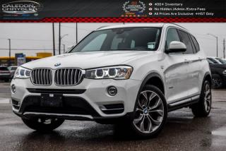 Used 2017 BMW X3 xDrive28i|Navi|Backup Cam|Bluetooth|Heated Front Seats|19