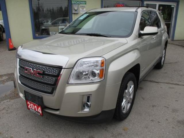 2014 GMC Terrain POWER EQUIPPED SLE MODEL 5 PASSENGER 2.4L - ECO-TEC.. ECON-BOOST.. CD/AUX/USB INPUT.. BACK-UP CAMERA.. BLUETOOTH SYSTEM..