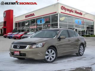Used 2008 Honda Accord EX-L NAVI for sale in Guelph, ON