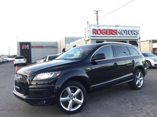 Used 2011 Audi Q7 3.0T QTRO - S-LINE - 7 PASS - NAVI - PANO ROOF for sale in Oakville, ON