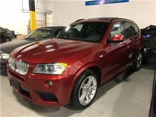 Used 2014 BMW X3 M-SPORT NAVIGATION PANOROOF for sale in Mississauga, ON