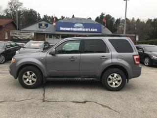 Used 2008 Ford Escape Limited for sale in Flesherton, ON