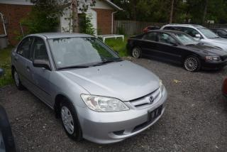 Used 2005 Honda Civic 4DR SE AUTO for sale in Hornby, ON