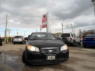 Used 2010 Hyundai Elantra Sdn Auto  NO RUST LOCAL ONTARIO PL PW for sale in Oakville, ON