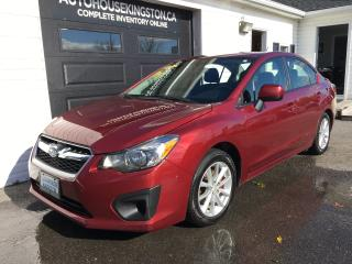 Used 2014 Subaru Impreza 2.0i w/Touring Pkg for sale in Kingston, ON