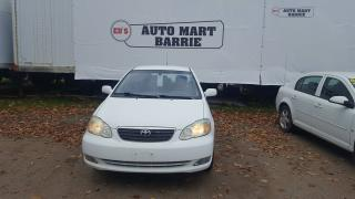 Used 2006 Toyota Corolla CE for sale in Barrie, ON