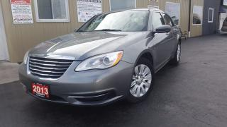 Used 2013 Chrysler 200 LX-TINT-4CYL-LOADED for sale in Tilbury, ON