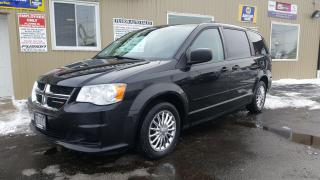 Used 2014 Dodge Grand Caravan SXT-DVD-BACK UP CAMERA-DUAL AIR/HEAT for sale in Tilbury, ON
