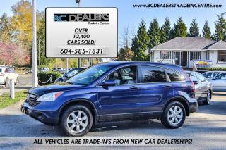 Used 2007 Honda CR-V EX-L, Local, No Accidents, Leather, Sunroof, Clean for sale in Surrey, BC
