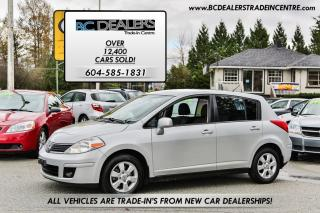 Used 2008 Nissan Versa 1.8 SL Hatchback, Automatic, Low km's, Local! for sale in Surrey, BC